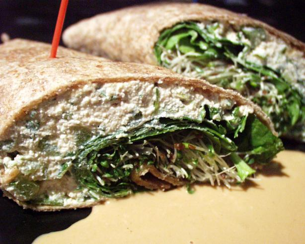 Veggie Chapati Roll-Up