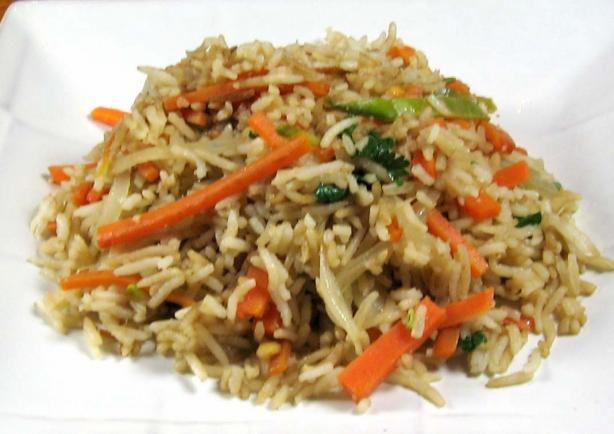 Thai Fried Rice with Vegetable Ribbons