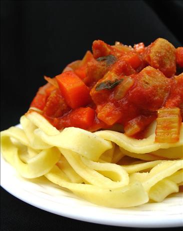 Spaghetti Bolognese Vegetarian