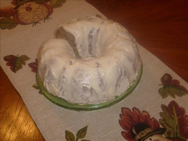 Olivia Walton's Applesauce Cake with Whiskey Frosting