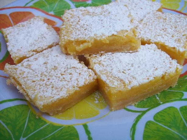 Scrumptious Lemon Bars