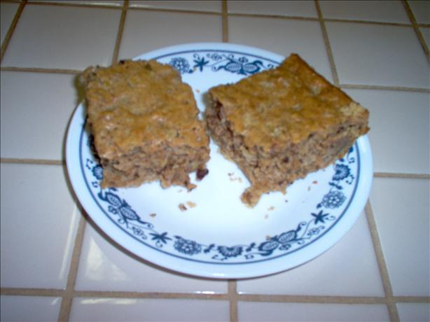 Pecan and Pineapple Squares