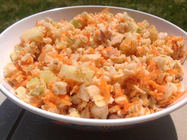 Tuna & Brown Rice Salad
