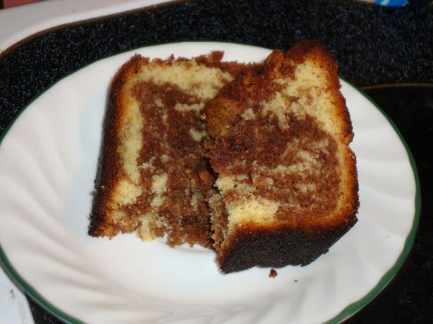 Marbled Chocolate Tea Bread