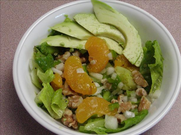 Avocado Mandarin Salad