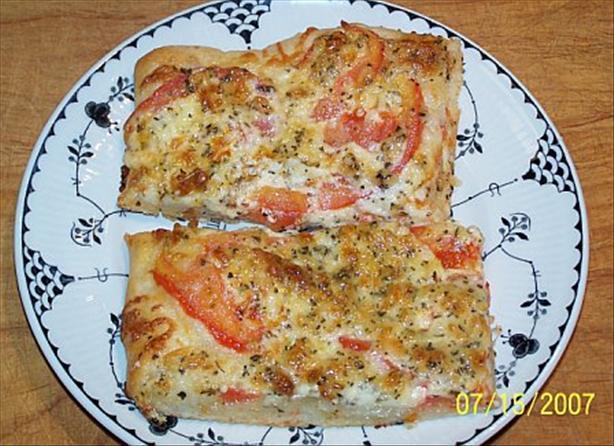 Tomato-Basil Squares