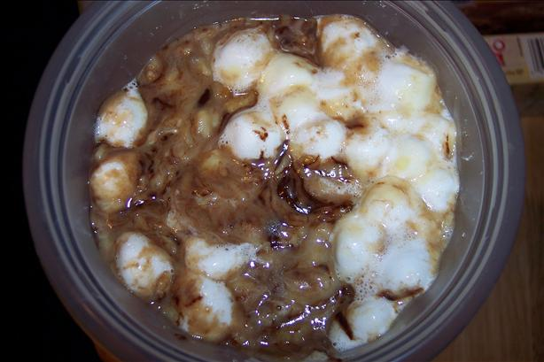 Rocky Road Rice Pudding