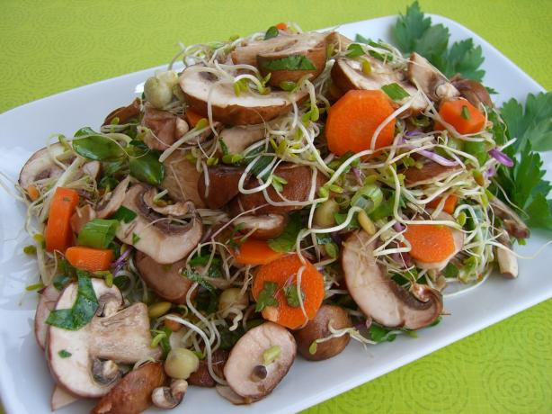 Mushroom and Herb Salad