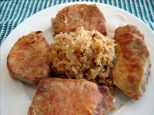 Berta's Chops & Sauerkraut