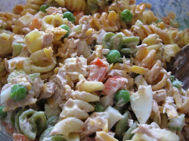 Evacuation Tuna & Pasta Salad
