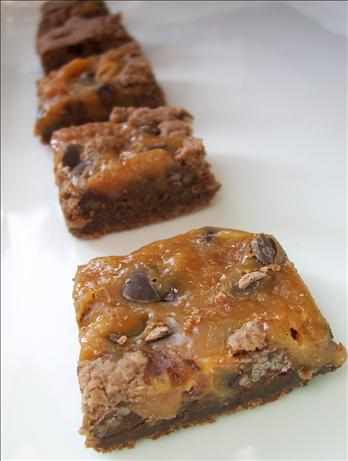 The Best Caramel Brownies