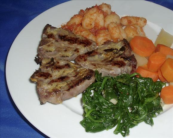 Rosemary Mustard Lamb Chops