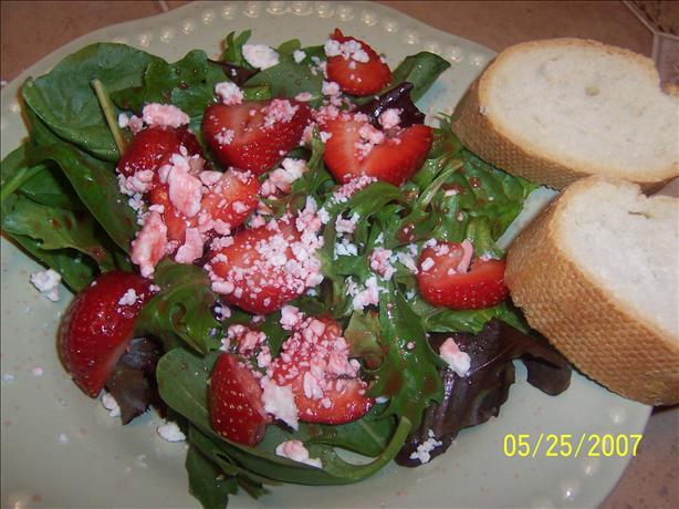 Strawberry and Stilton Salad