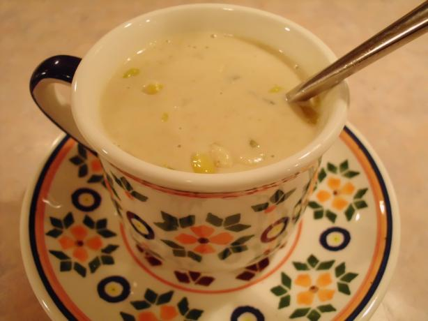 Peanut Butter Corn Chowder