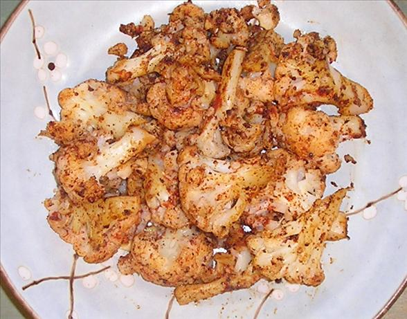 Cauliflower With Paprika