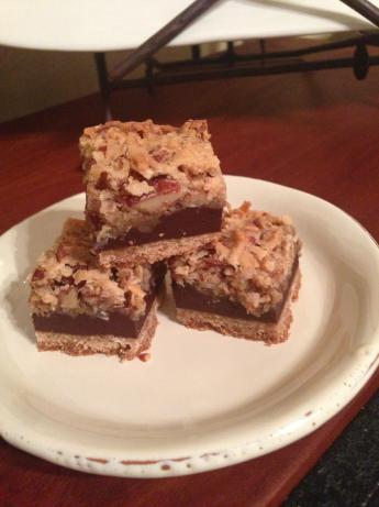 Mrs. Fields Coconut Mud Bars