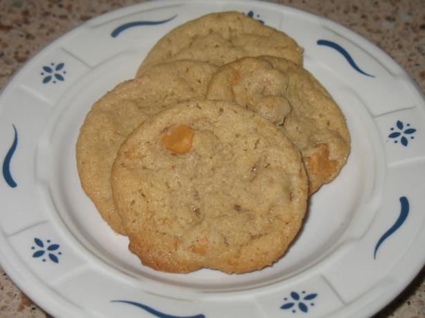 Butterscotch-Peanut Butter Cookies