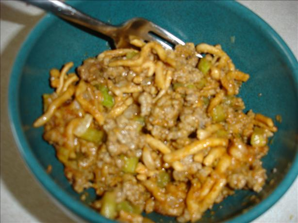 Chow Mein Hotdish