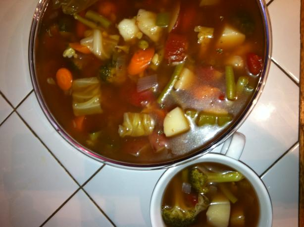 Leona's Cabbage Soup