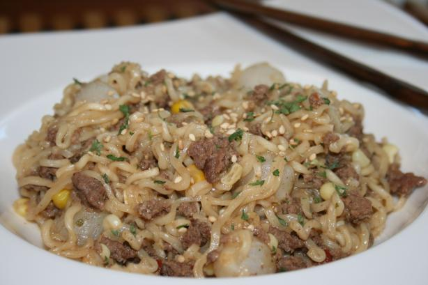Ground Beef and Noodles