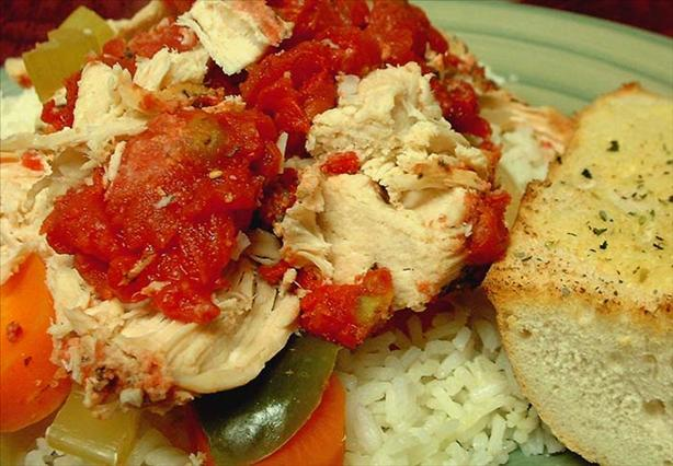 Crock Pot Chicken Italiano