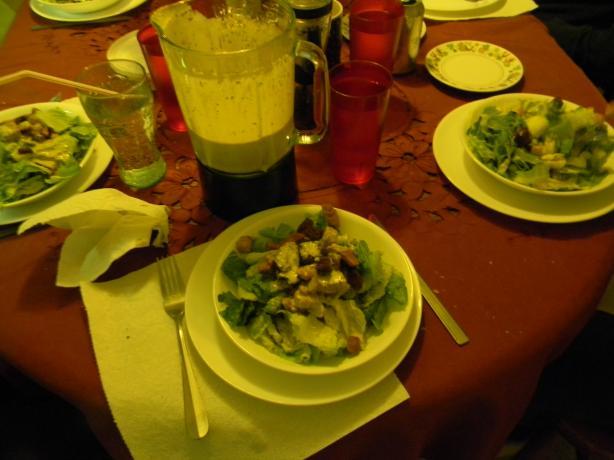Outback Steakhouse Caesar Salad Dressing