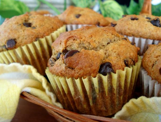 Banana Chocolate-Chip Muffins