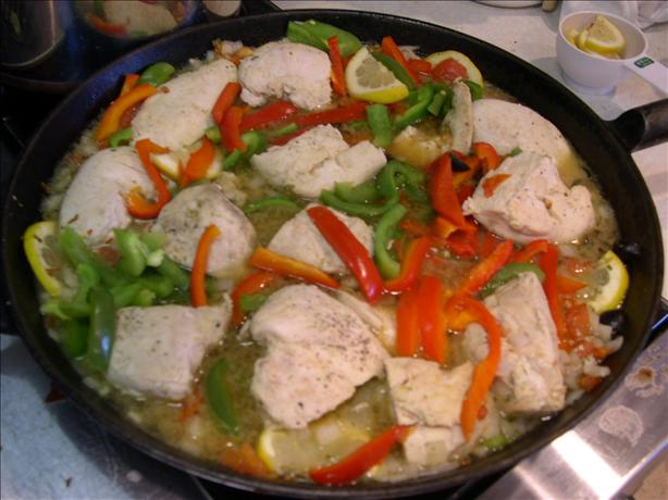 Oregano Chicken & Vegetables