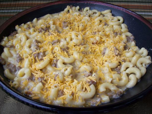 Cheeseburger Macaroni and Cheese