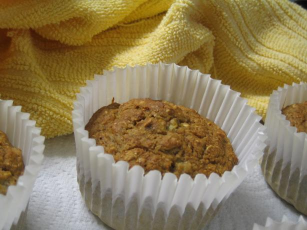 Best Ever Eggless Banana Oatmeal Muffins
