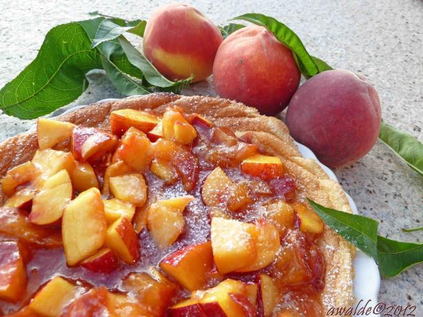 Peach Omelette Souffle