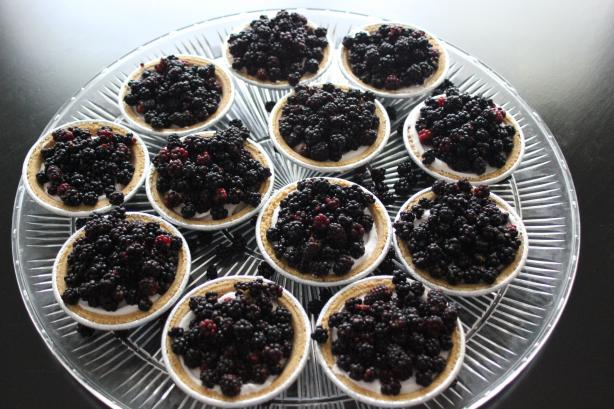 Easy Berry Tarts