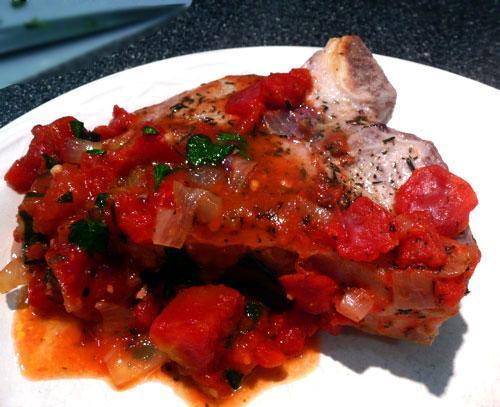 Veal Chops Italiano