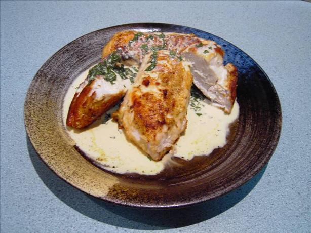 Chicken With Basil And Parmesan