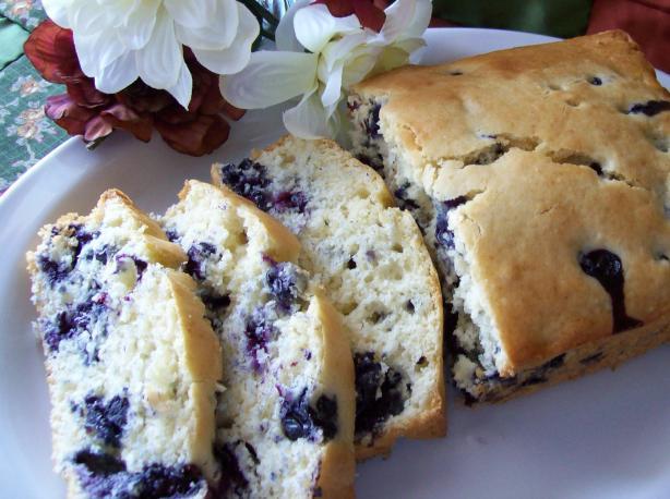 RBI's Blueberry Hot Bread