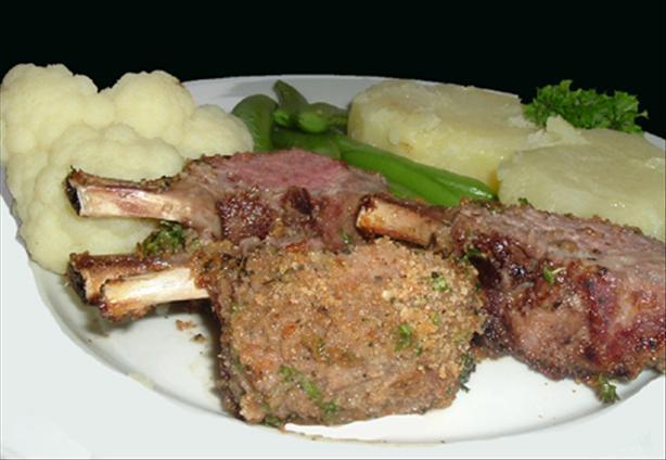 Crusty Rack of Lamb With Parsley