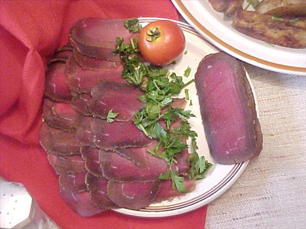 Armenian Basterma (Dried Cured Beef)