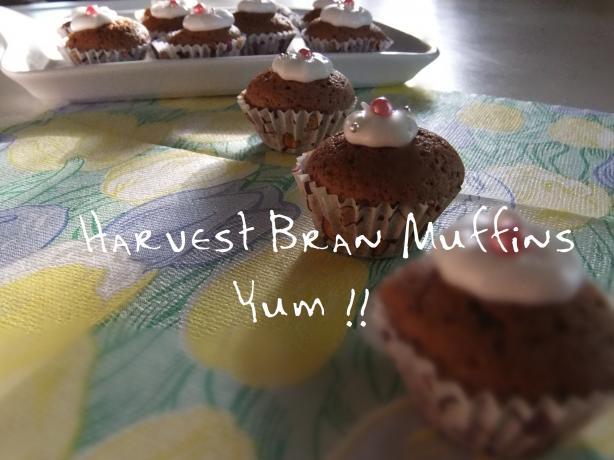 Harvest Bran Muffins