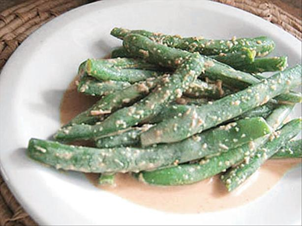 Green Beans with Peanut