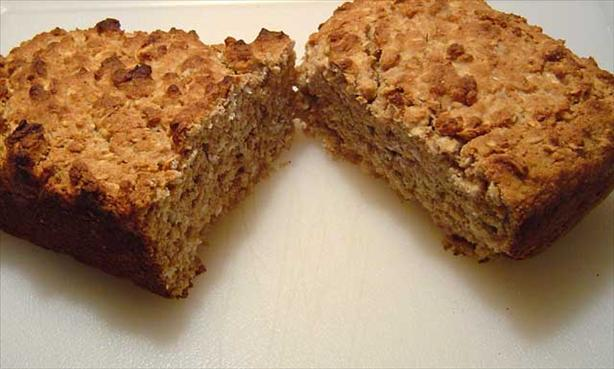 Egg-Free Oatmeal Whole Wheat Quick Bread