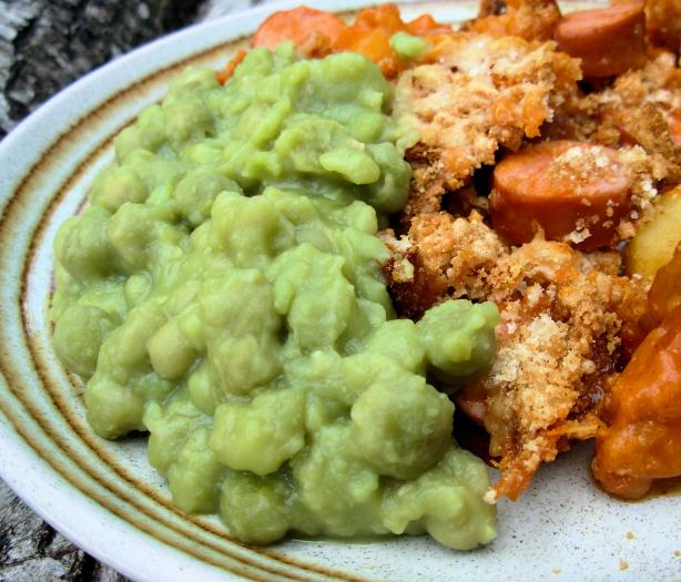 "Irish ""matter of Fact Peas"" (Mushy Peas)"