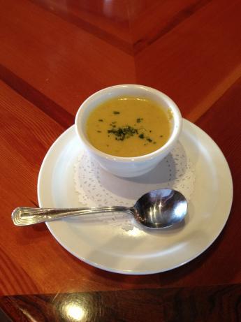 Banana Curry Soup