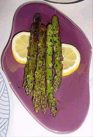 Black Sesame Asparagus