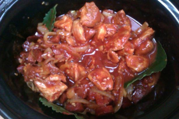 Chicken Chorizo (Pollo Con Chorizo)