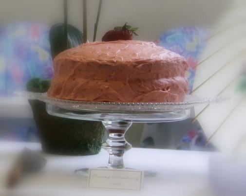Dreamy Strawberry Layer Cake