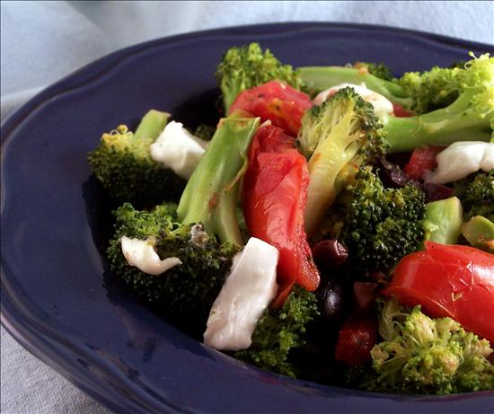 Greek Broccoli and Tomatoes