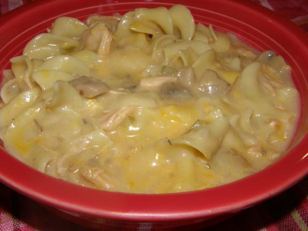 Crock Pot Turkey Tetrazzini