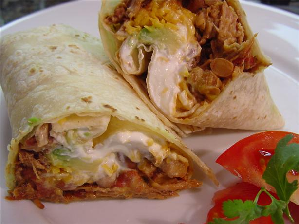Mexicali Meat Burritos