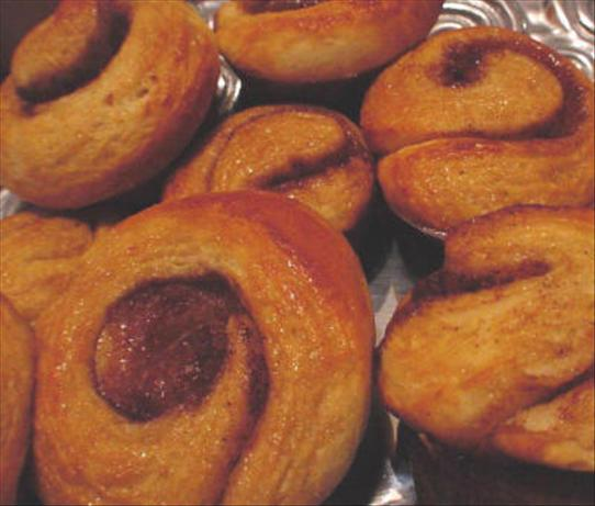 Orange-Scented Cinnamon Rolls