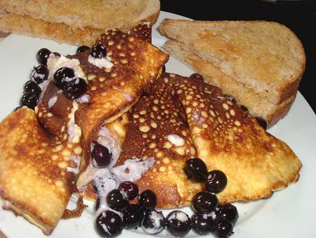 Blueberry Omelet
